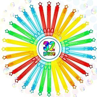 TOY Life Mini Bubble Wands 30 Pack - Mini Bubbles Party Favors for Kids Child- Bubble Party Favors - Bubbles for Birthday ...