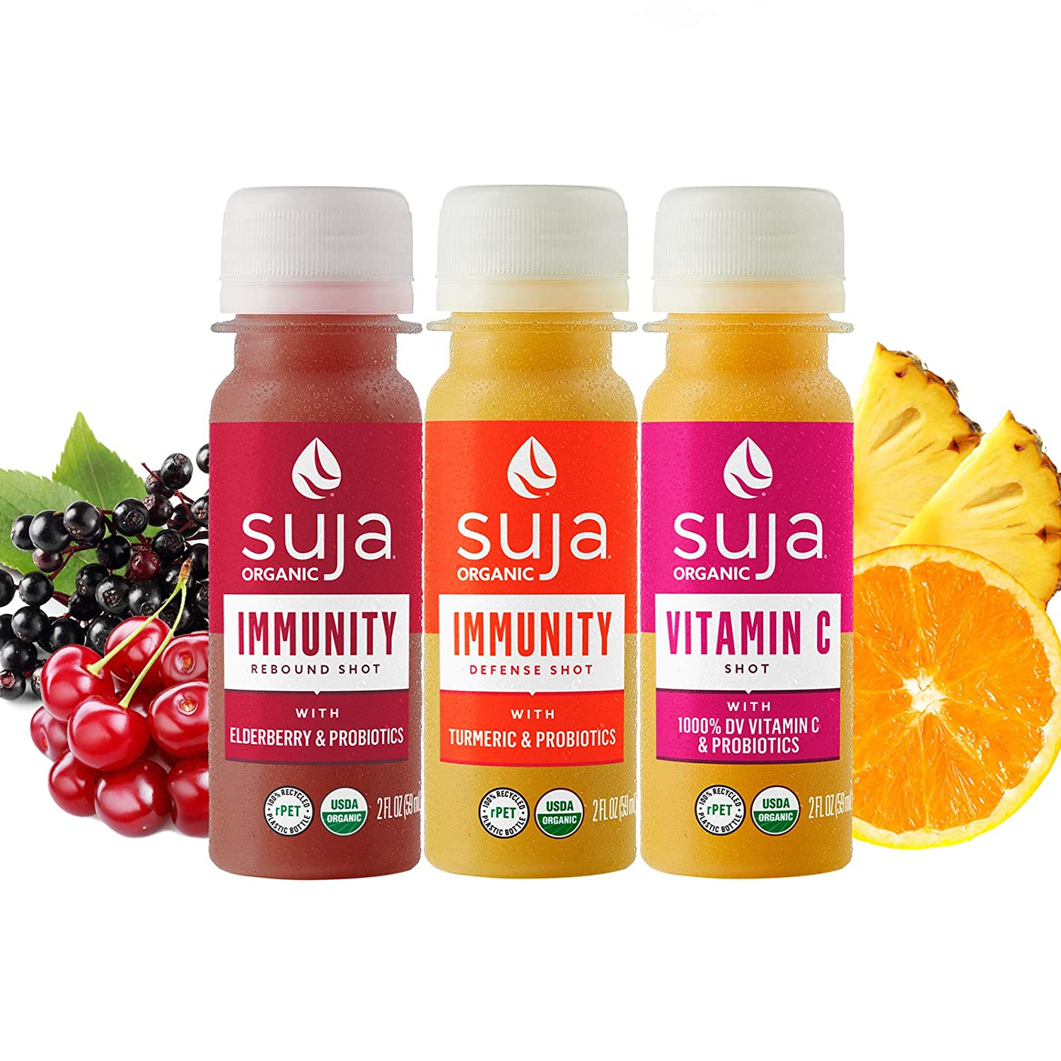 Suja Organic Cold-Pressed Immunity Boost Pack Shots Immun Popular brand in the famous world 60