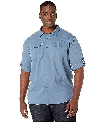 Columbia Big and Tall Silver Ridge Lite Long Sleeve Shirt (Mountain) Men