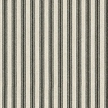 Waverly Timeless Ticking  Black, Fabric by the Yard