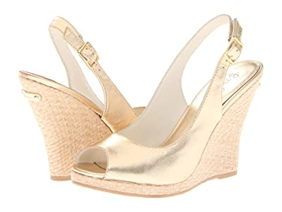 Lilly Pulitzer Kristin Wedge (Gold Metallic) Women