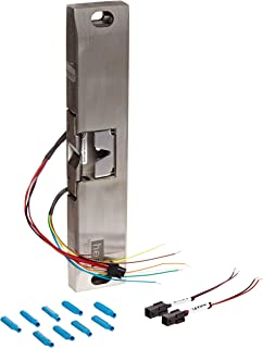HES 9600 Series Stainless Steel Fire Rated Surface Mounted Electric Strike Body for Rim Exit Devices with Locked State Monitoring, Satin Stainless Steel Finish