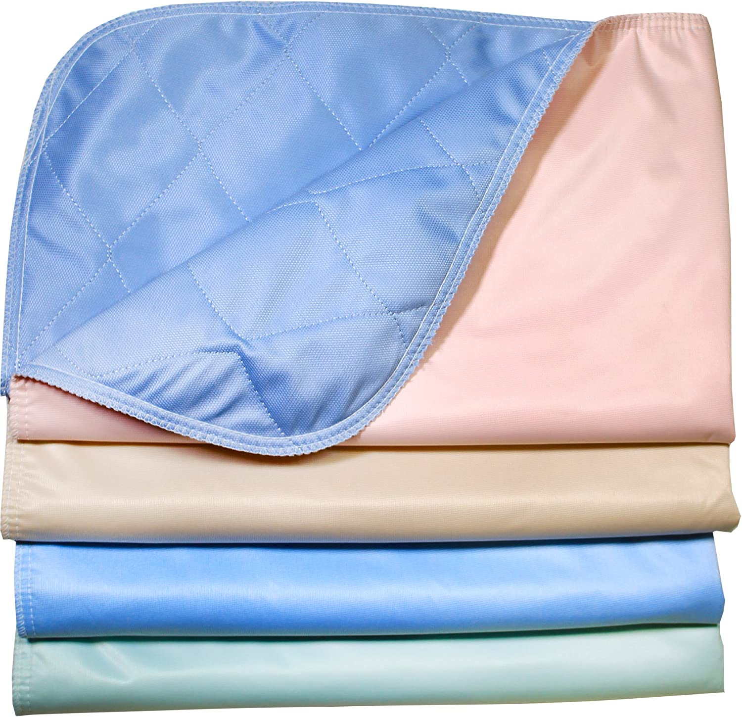 Pack of 4  Reusable Stain Resistant Quick Absorbent Washable Large Dog Puppy Training Travel Pee Pads  Size 24 x 36