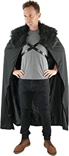 Jon Snow Costume Cosplay Cloak for Mens Game of Thrones Costume
