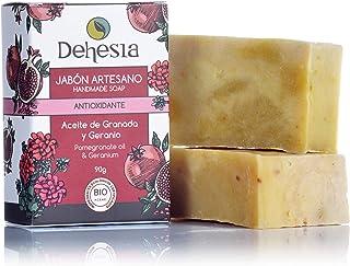 JABÓN ARTESANO NUTRITIVO-ANTIOX BIO. Con Granada y Geranio. Dehesia Econatural - 90g