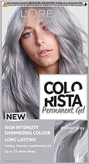 L'Oreal Colorista Silver Grey Permanent Hair Dye Gel