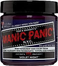 Manic Panic Violet Night Dark Purple Hair Dye