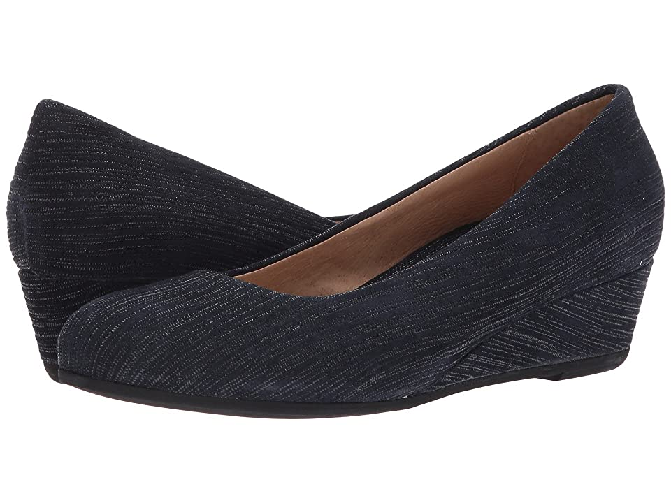 French Sole Gumdrop (Navy Pinstripe Print) Women