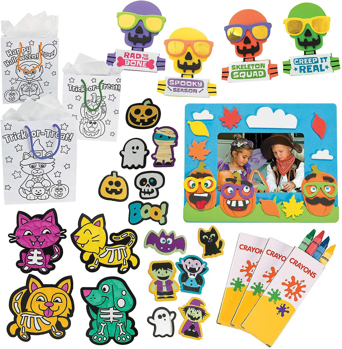 Fun Express Trick-or-Treat Craft Goody Ranking TOP14 Kits Bags P Super beauty product restock quality top 132 -