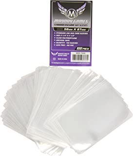 Mayday Games Purple Label: Standard USA Game Size Sleeves (100) 56mmx87mm
