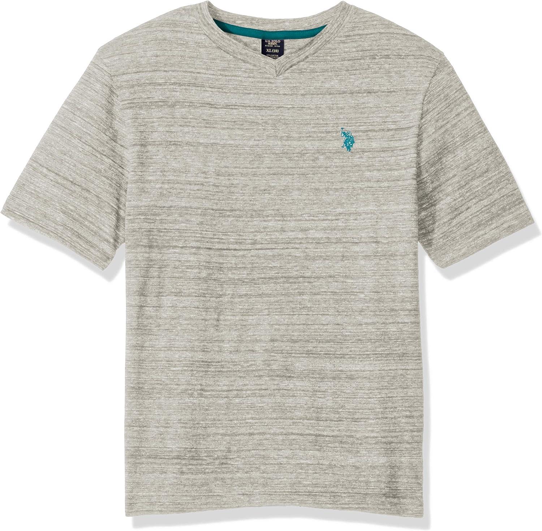 U.S. Polo Assn. Boys' Short Sleeve V-Neck T-Shirt