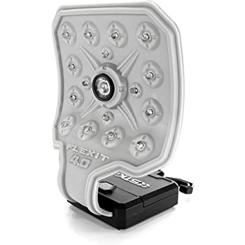 STKR Concepts FLEXiT 4.0 Flashlight - 400 Lumens Flexible Flashlight, White (345)