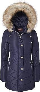 Best juniors faux fur trim puffer coat Reviews