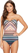 Jets by Jessika Allen Womens Spectrum Bandeau One-Piece