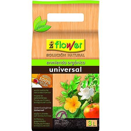 Flower 80106 80106-Humus de lombriz, 3 l, 16x11.5x29.5 cm