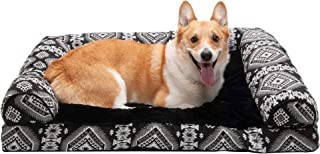 Furhaven Pet – Sofa-Style Dog Pillow Bed & Traditional Orthopedic Foam Mattress..