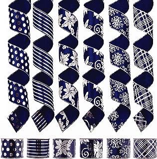 Best navy christmas ribbon Reviews