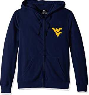 Top of the World West Virginia Mountaineers Men's Lightweight Full Zip Hoodie, X-Large