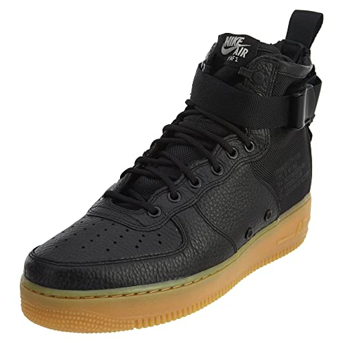 black low top air forces