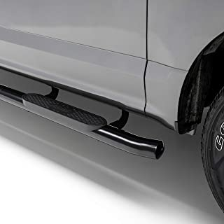 ARIES S222009 4-Inch Oval Black Steel Nerf Bars Select Toyota Tacoma