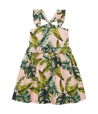 Janie and Jack Printed Dress (Toddler/Little Kids/Big Kids) (Multi) Girl