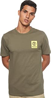 Timberland Men's SS Back Logo Camo T-Shirt