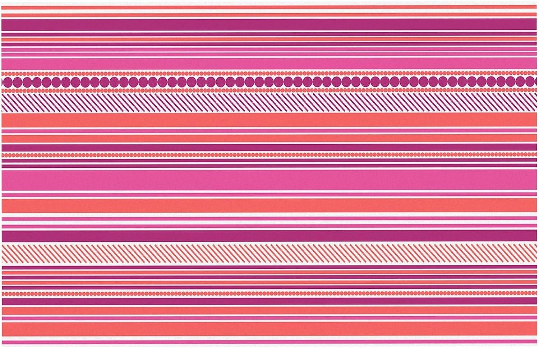 KESS InHouse NS2028ADM02 Nandita Singh Pink Ribbons bluesh Purple Dog Place Mat, 24  x 15