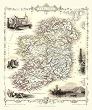 1000 Piece Jigsaw Puzzle Map of Ireland 1851