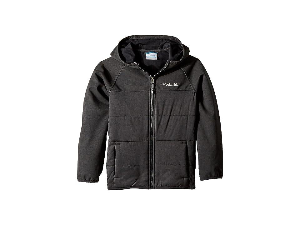 Columbia Kids Take A Hiketm Softshell Jacket (Little Kids/Big Kids) (Black) Boy