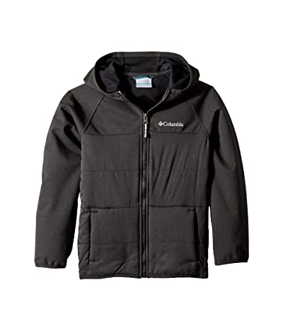 Columbia Kids Take A Hiketm Softshell Jacket (Little Kids/Big Kids) (Black) Boy