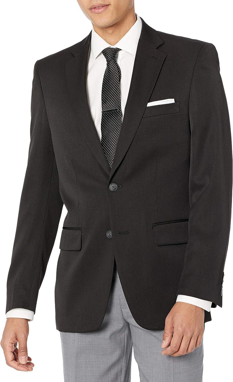 Haggar Men's Travel Performance Gabardine Tailored-Fit Suit Separate Coat