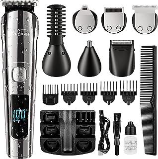 ماشین اصلاح چند منظوره UPBRIGHT - اصلاح موهای سر، صورت و موهای بدن با تیغه های فولادی ضدزنگ و قابلیت شارژ سریع - ضدآب