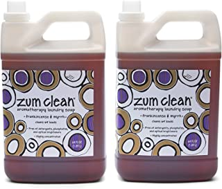 Zum Clean Laundry Soap - Frankincense and Myrrh - 64 fl oz (2 Pack)