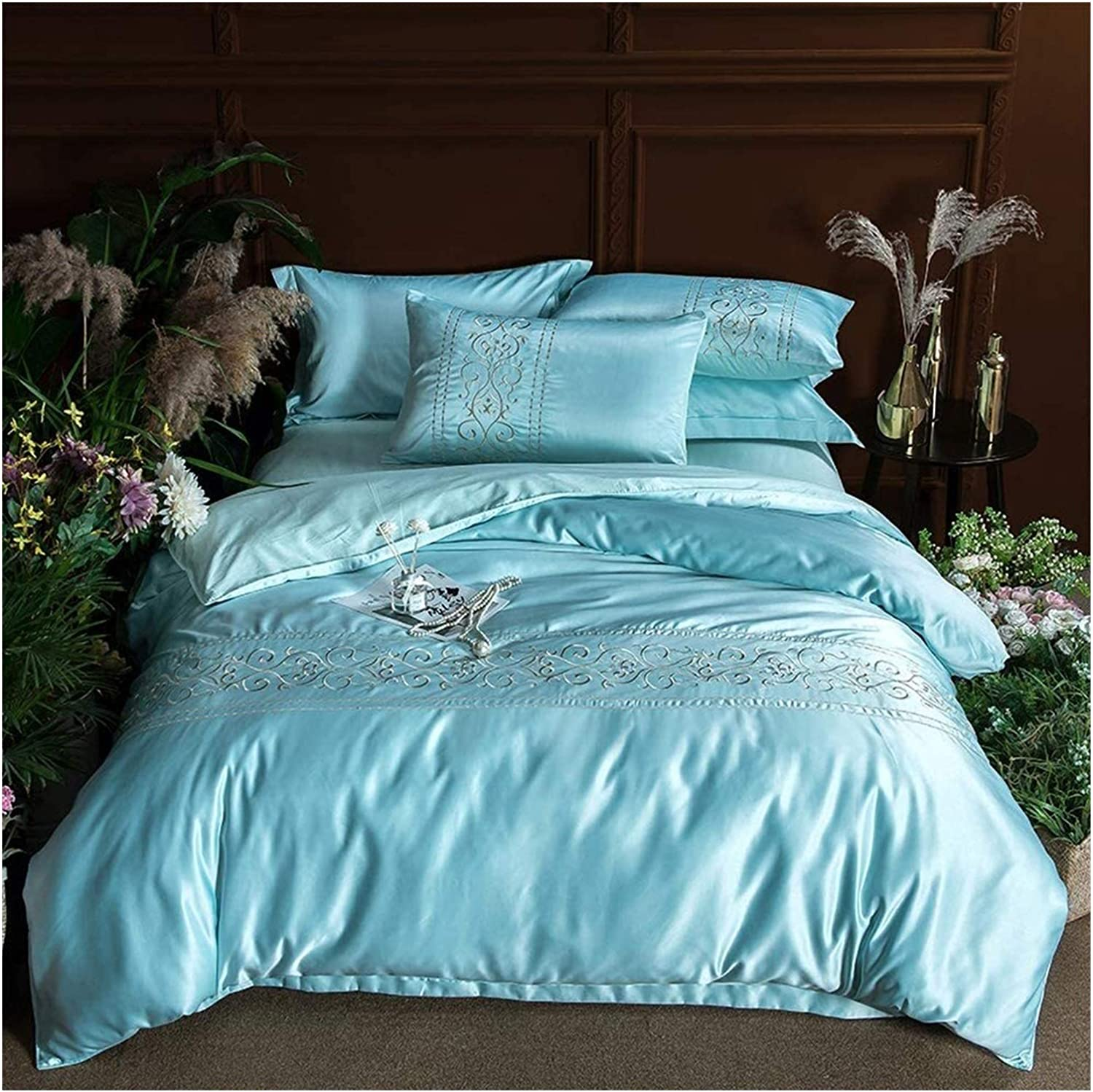LXYLXY Four Piece High material Bed Set Sales results No. 1 for Silk Washed Family Cotton Four-Pie