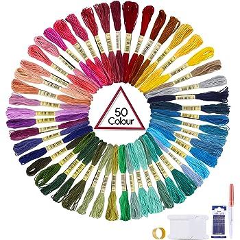 Anchor 4615000-01345 Fil /à broder en coton Multicolore