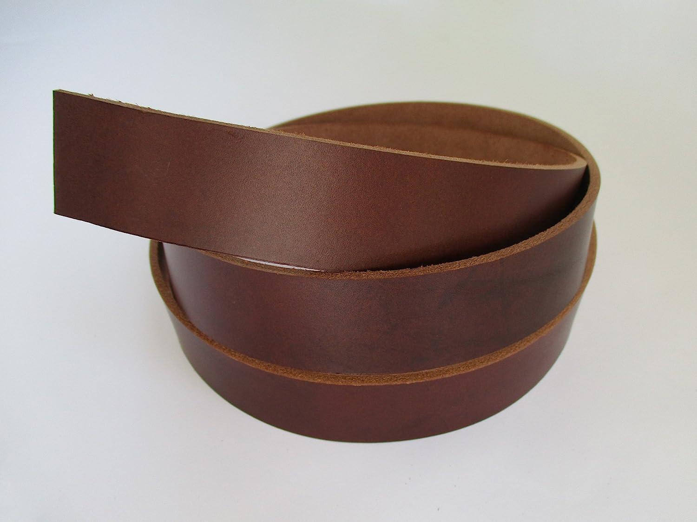 Black, 1 1//5 9-10 oz 51-55 30mm. Genuine Natural Leather Belt Blank Strip Strap Band.