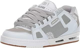 Best globe sabre dark grey, grey & white skate shoes Reviews
