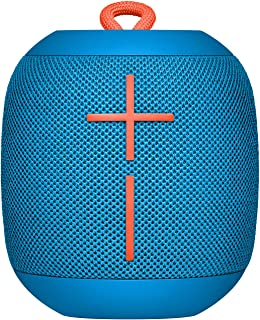 Ultimate Ears Wonderboom Portable Wireless Bluetooth Speaker, Thundering Bass, 360 Sound, Waterproof, Connect Two Speakers...