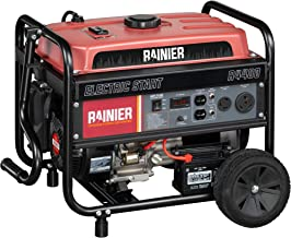 Rainier R4400 Portable Generator with Electric Start – 4400 Peak Watts & 3600..