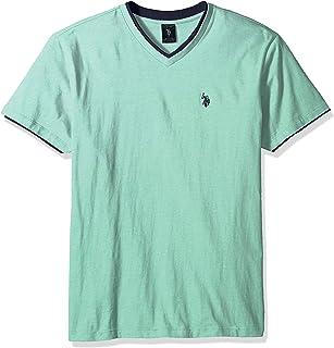 Men's Double Ringer V-Neck T-Shirt