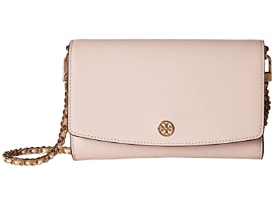Tory Burch Robinson Chain Wallet (Shell Pink) Bill-fold Wallet