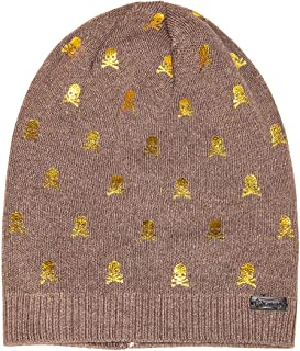 LADYBRO Womens Beanie Printed Slouchy Wool - Beany for Women Knit Hats Caps Soft Warm