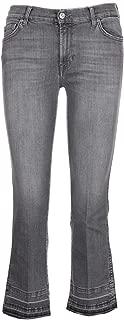 7 for All Mankind Luxury Fashion Womens SYRU790WO Grey Jeans | Season Permanent