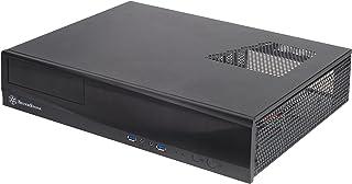 Silverstone SST-ML03B - Caja de ordenador de sobremesa (HTPC, micro-ATX, 1 x USB 3.0, interruptor de encendido/apagado integrado), negro