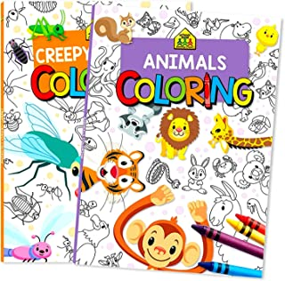 School Zone Coloring Books for Kids Activities (Coloring Books)