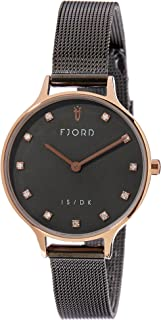 FJORD Women's FJ-6041-66 Analog Quartz Grey Watch