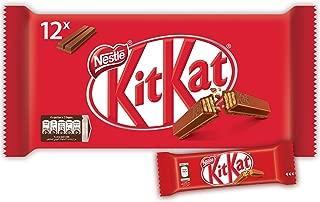 Nestle Kitkat 2 Finger Milk Chocolate Wafer Bar, 20.5g (Pack of 12)