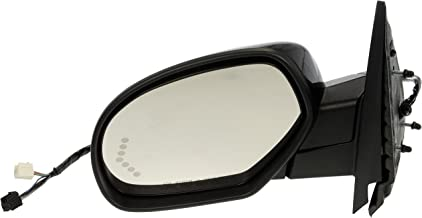Dorman 955-1013 Driver Side Power Door Mirror - Heated / Folding with Signal for Select Chevrolet / GMC Models, Black