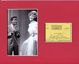 Kaye Stevens Singer Actress Signed Autograph Photo Display With Sammy Davis Jr - Autographed NFL Photos