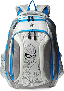 Spiderman School Backpack for Boys - Grey